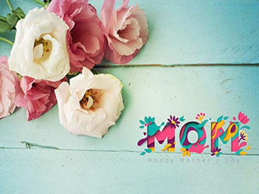 Kate Carnations Wooden floor Backdrop for Happy Mother'S Day Photography - Kate backdrops UK