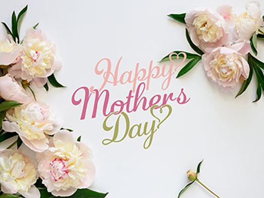 Katebackdrop Kate White Background Happy Mother's Day Floral Backdrop