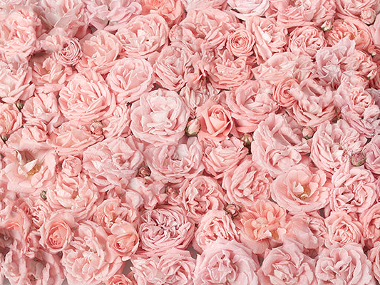 Kate Pink Floral Flowers Cluster Backdrops for Photography