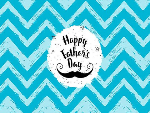 Kate Beard Blue Chevrons Backdrops for Father'S Day Photography - Kate backdrops UK