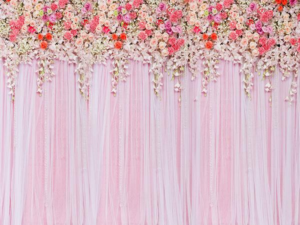 Kate Beautiful Flowers Wedding Backdrop Photography Valentine's Day Holiday Clearance - Kate backdrops UK
