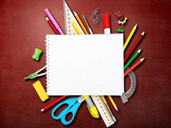 Katebackdrop£ºKate Red Background back to school backdrop pencil prop