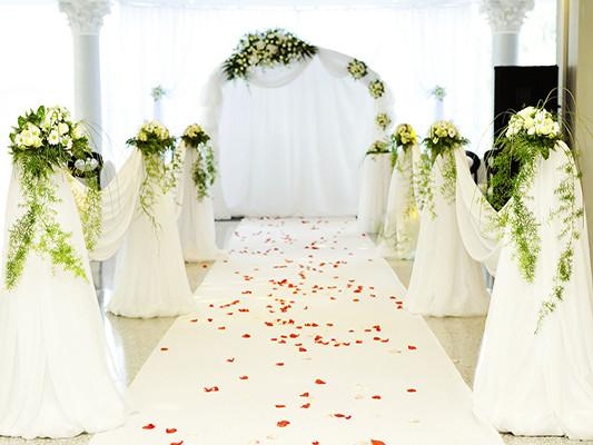 Katebackdrop£ºKate White Wedding Curtain Flower Backdrops Beautiful