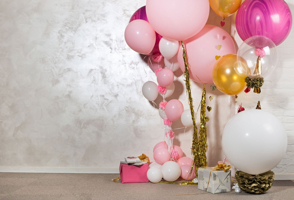 Kate Balloons Background For Birthday Photography - Kate backdrops UK