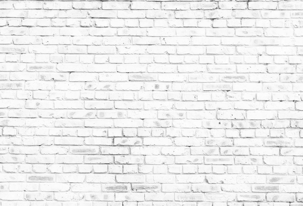 Kate White Brick Wall Backdrops For Photography