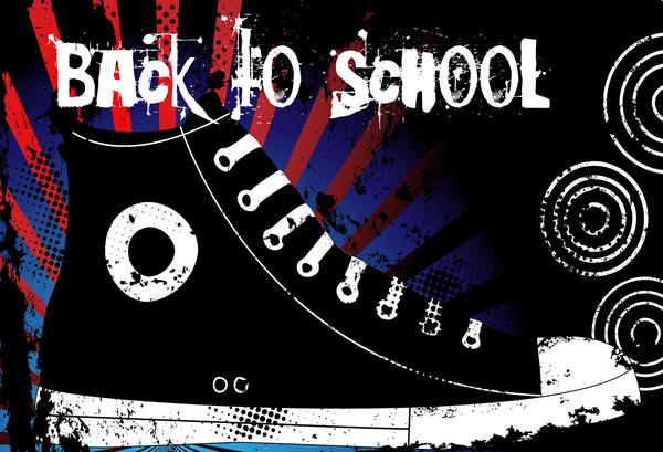 Kate Chalkboard Back to school Shoes backdrops for Photography - Kate backdrops UK