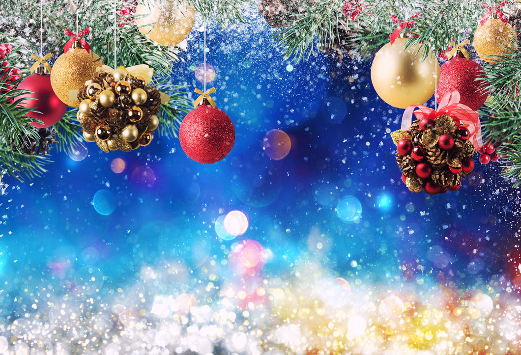 Kate Christmas Decoration Bokeh Backdrops for Photography - Kate backdrops UK