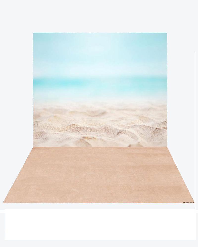 Kate Ocean Summer backdrop + Sea Rubber floor mat