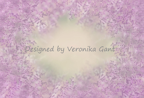 Kate Dreamy Purple Grass Backdrop Designed by Veronika Gant