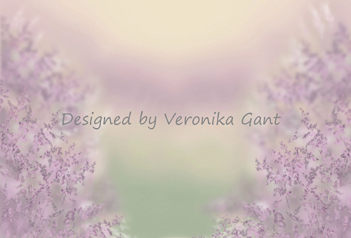 Kate Dreamy Purple Grass02 Backdrop Designed by Veronika Gant