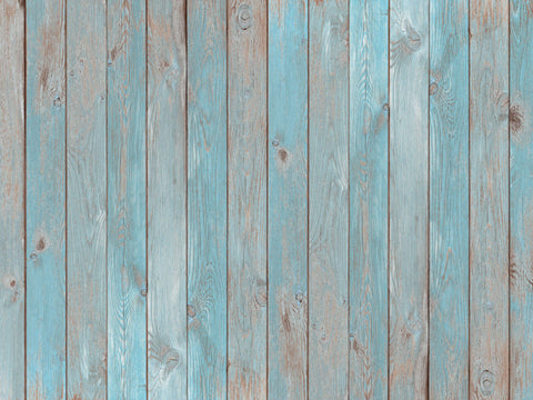Kate Retro Light Blue White Wood Wall of Portail Backdrop for photography