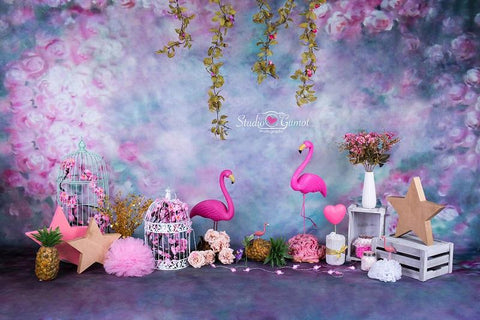 Kate Flower Backdrop for Children Photography Designed by Studio Gumot