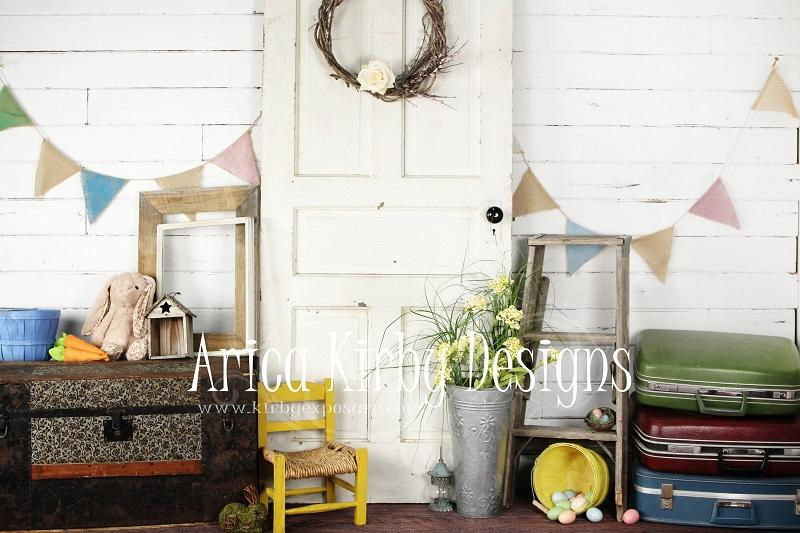 Load image into Gallery viewer, Kate Easter Door Backdrops Designed by Arica Kirby