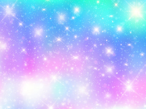Kate Blue and Purple Galaxy Universe filled with Star Backdrop for Photography