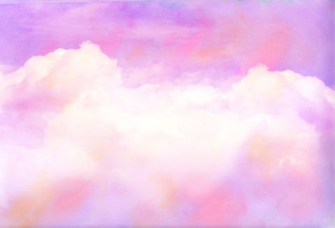 Kate Baby Shower Sunset Melody Clouds Backdrop for Photography Designed by Mini MakeBelieve - Kate backdrops UK