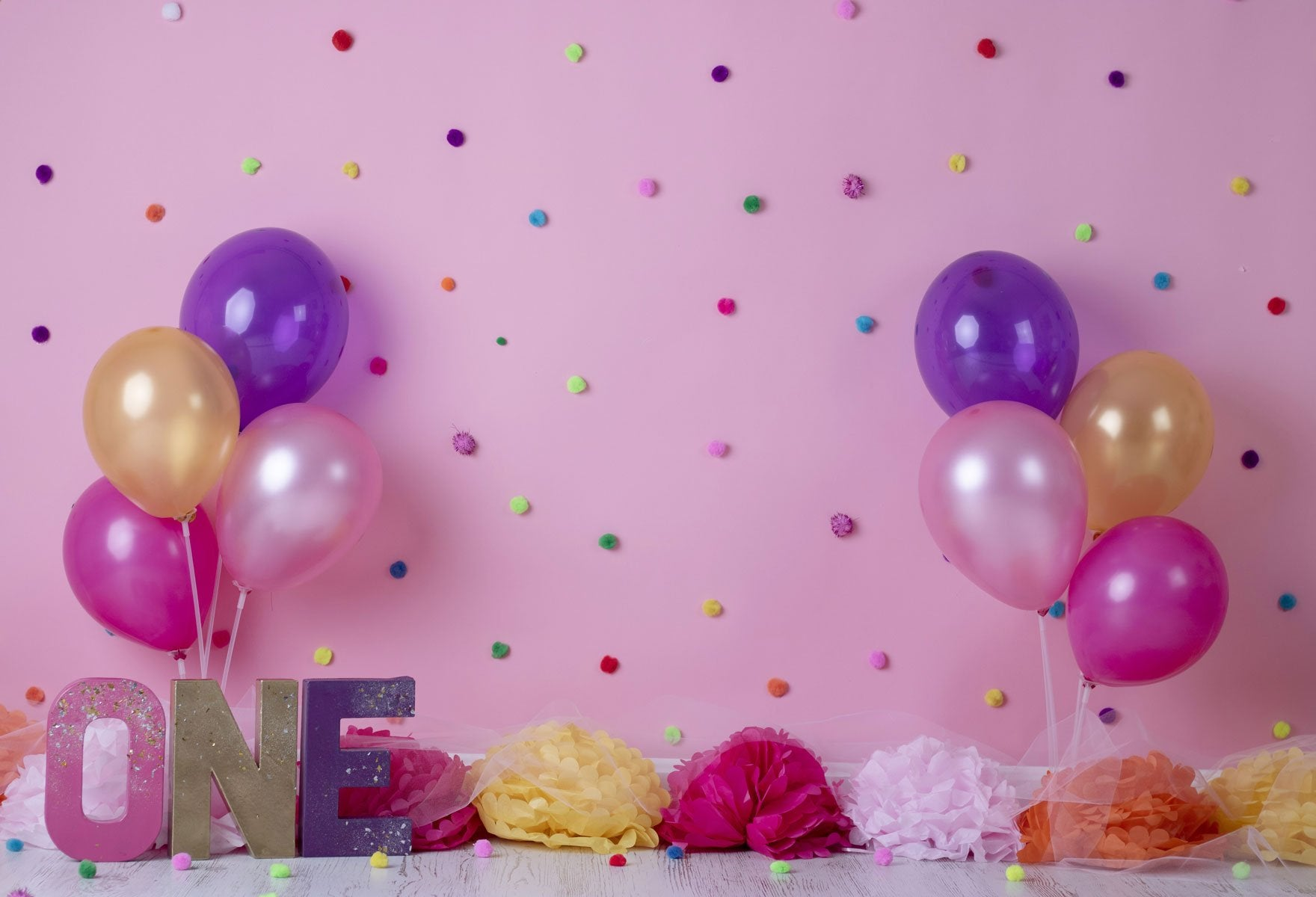 Load image into Gallery viewer, Kate Balloons And Decorations Birthday Children Backdrop for Photography Designed by Erin Larkins - Kate backdrops UK