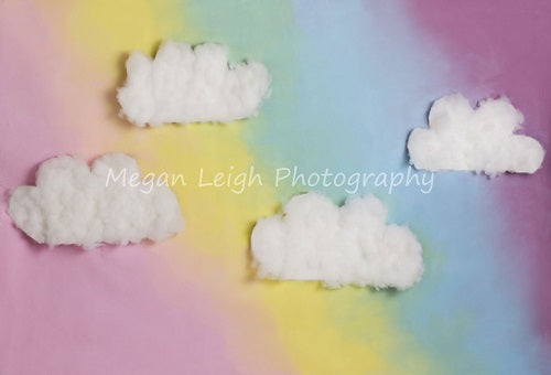 Kate Fantasy Background with Clouds Backdrop for Photography Designed by Megan Leigh Photography
