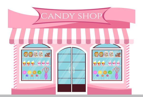 Load image into Gallery viewer, Kate Pink Candy Shop Children Backdrop for Photography designed by Jerry_Sina