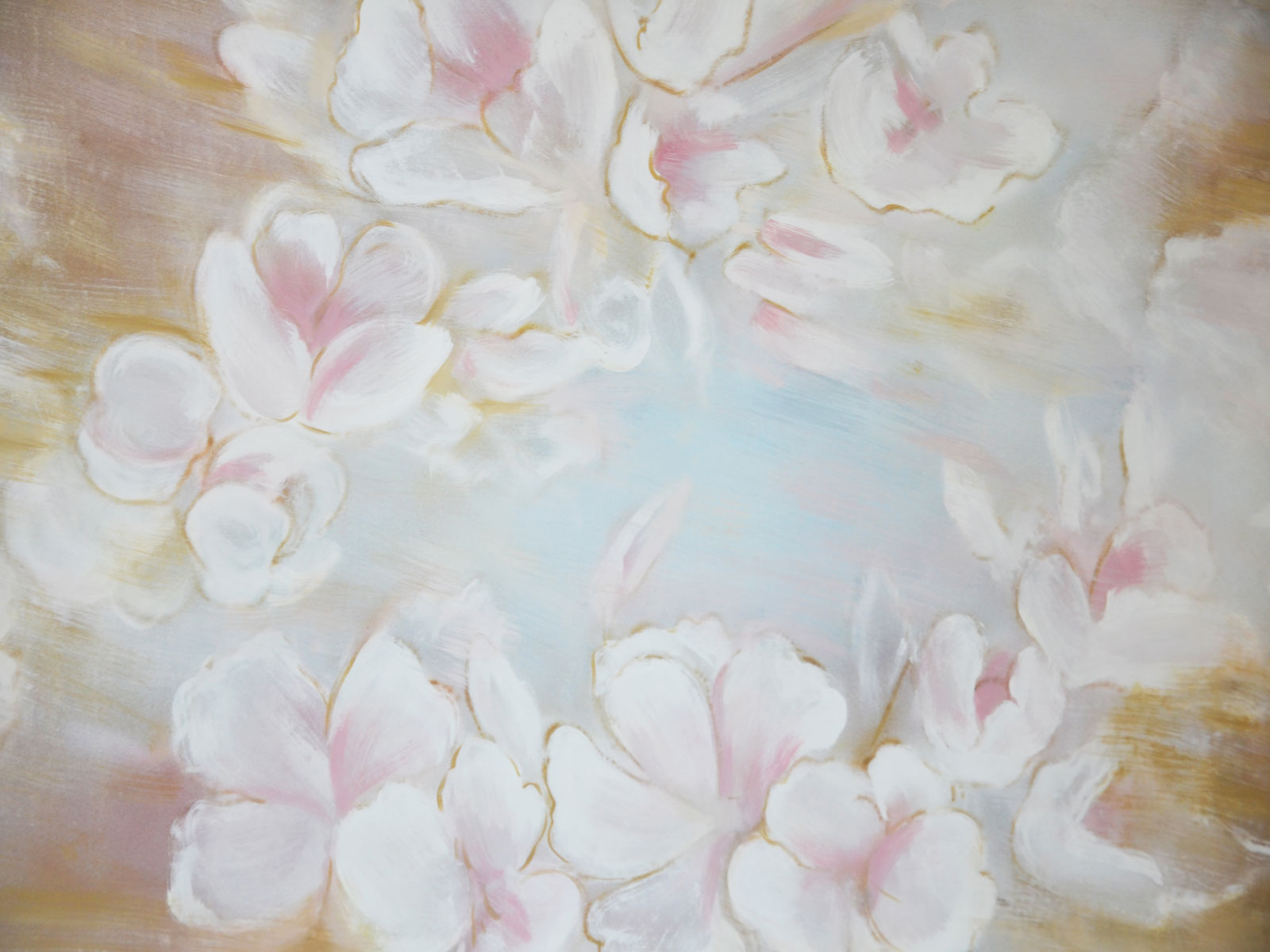 Load image into Gallery viewer, Kate Painting flowers Fine art Backdrops
