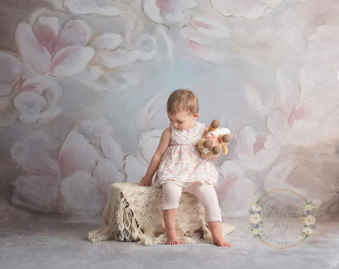 Kate Painting flowers Fine art Backdrops