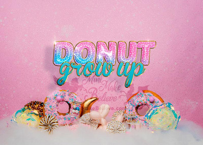 Kate Donuts Grow Up Backdrop Designed by Mini MakeBelieve