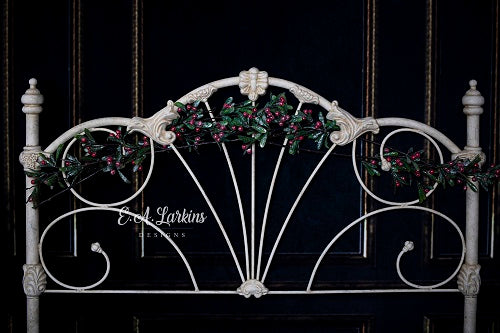 Kate Christmas Iron Headboard