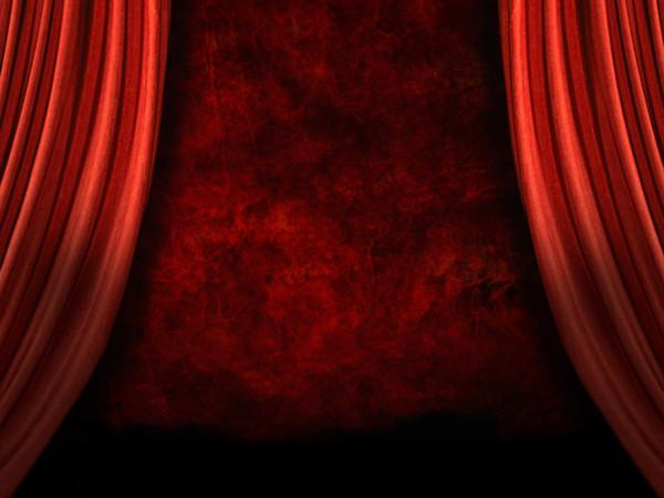 Kate Burgundy Curtain Stage Backdrop for Photography - Kate backdrops UK