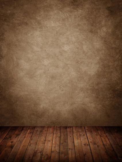Kate Brown texture backdrop with wood floor for photography 5x7ft(1.5x2.2m) - Kate backdrop UK