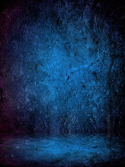 Load image into Gallery viewer, Kate Dark Blue Abstract Textured Photo Backdrops