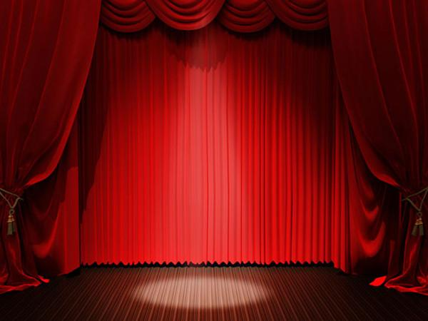 Katebackdrop:Kate Stage Curtain with Light Photography Backdrops