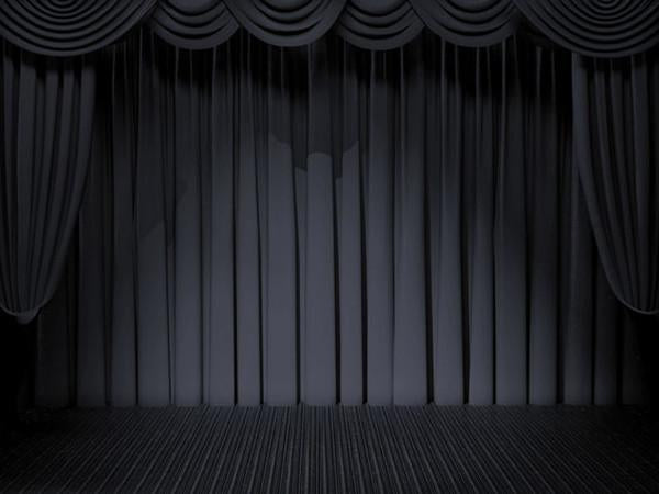 Kate Black White Stage Curtain Backdrops for photography - Kate backdrops UK