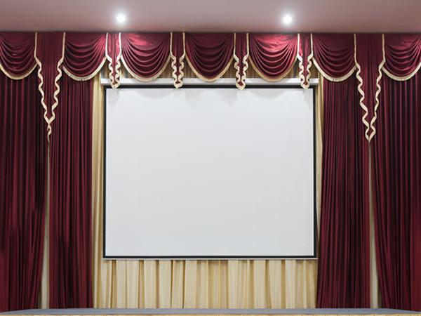 Katebackdrop:Kate Red Background Backdrop Drape Curtain Swag Wedding Party Stage