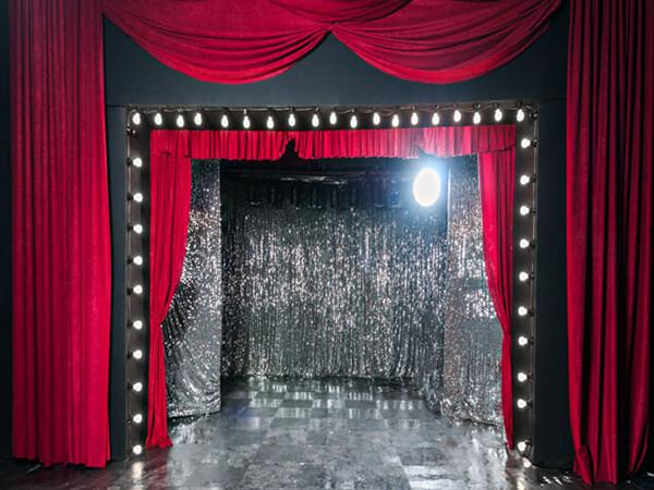 Katebackdrop:Kate Stage Curtain Decoration Light Wedding Photo Backdrop