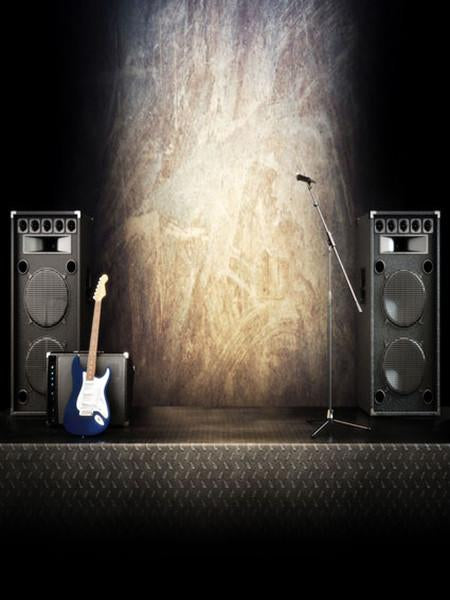 Katebackdrop:Kate Stage Backdrops For Photographers Sound Guiter Photo Backdrops
