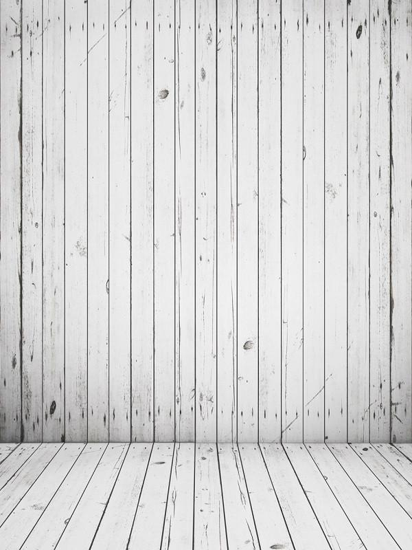 Katebackdrop£ºKate Wood Wall Photography Backdrops White Floor Backgrounds