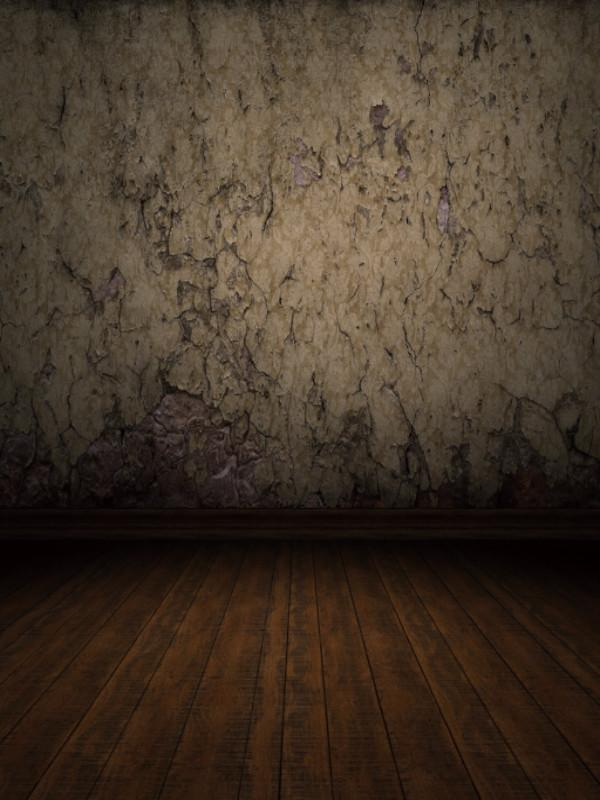 Katebackdrop:Kate Retro Style Broken Dark Brick Wall Backdrops