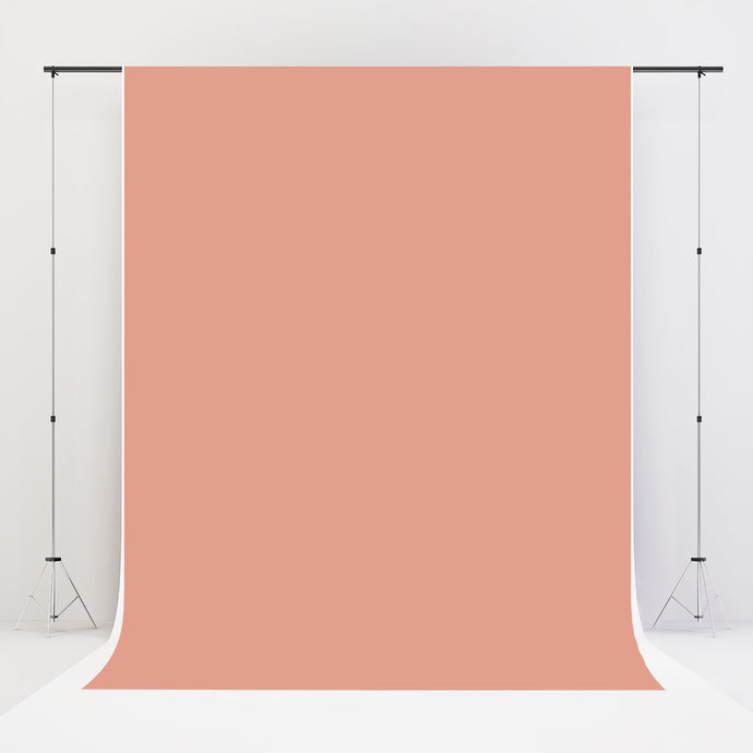Kate Peach Solid Fabric Backdrop for Photography