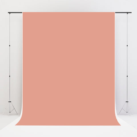 Kate Peach Solid Fabric Backdrop for Photography 10x10ft(3x3m)-only one