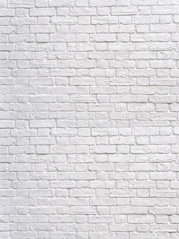 Katebackdrop:Kate White Brick Children Backdrop for Photography or Party