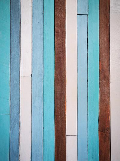 Katebackdrop£ºKate Light Sky Blue Vertical Wood Baby Background For Photography