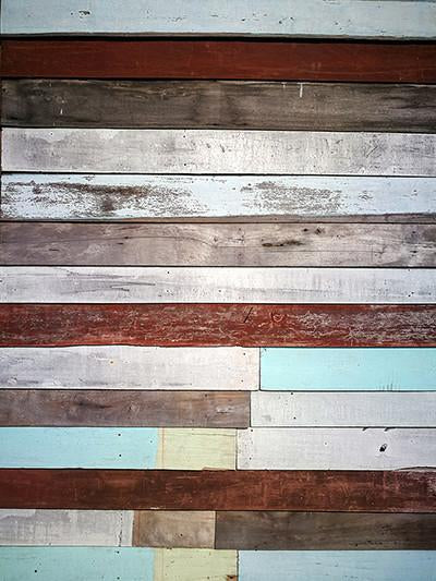 Katebackdrop:Kate Retro Wooden Wall Newborn Backgrounds For Photo Studio