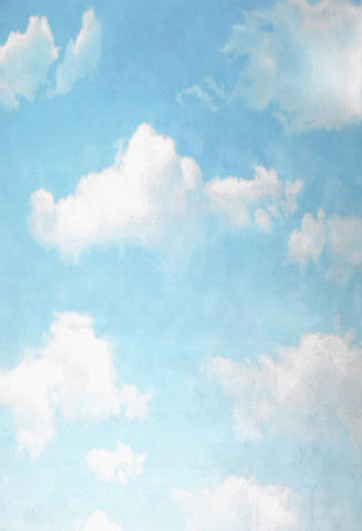 Kate Cloud and Blue Sky Summer Backdrops for Photography