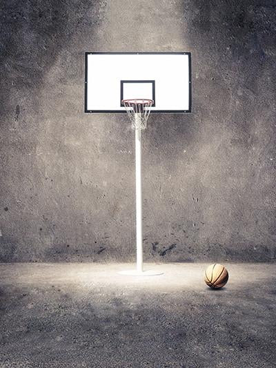Kate Basketball sports Cement Wall Background Backdrop For Photography - Kate backdrops UK