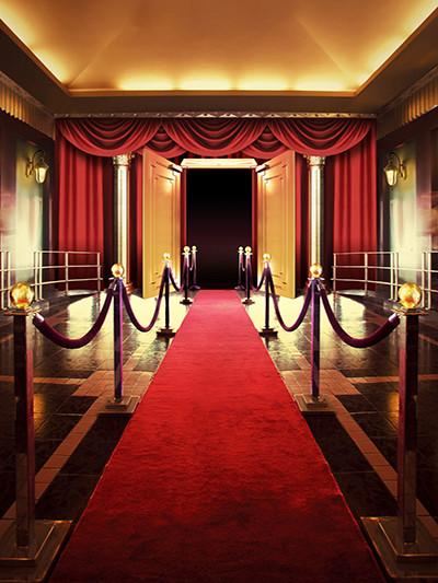 Katebackdrop:Kate Red Carpet Indoor Wedding/Event Custom Backdrop