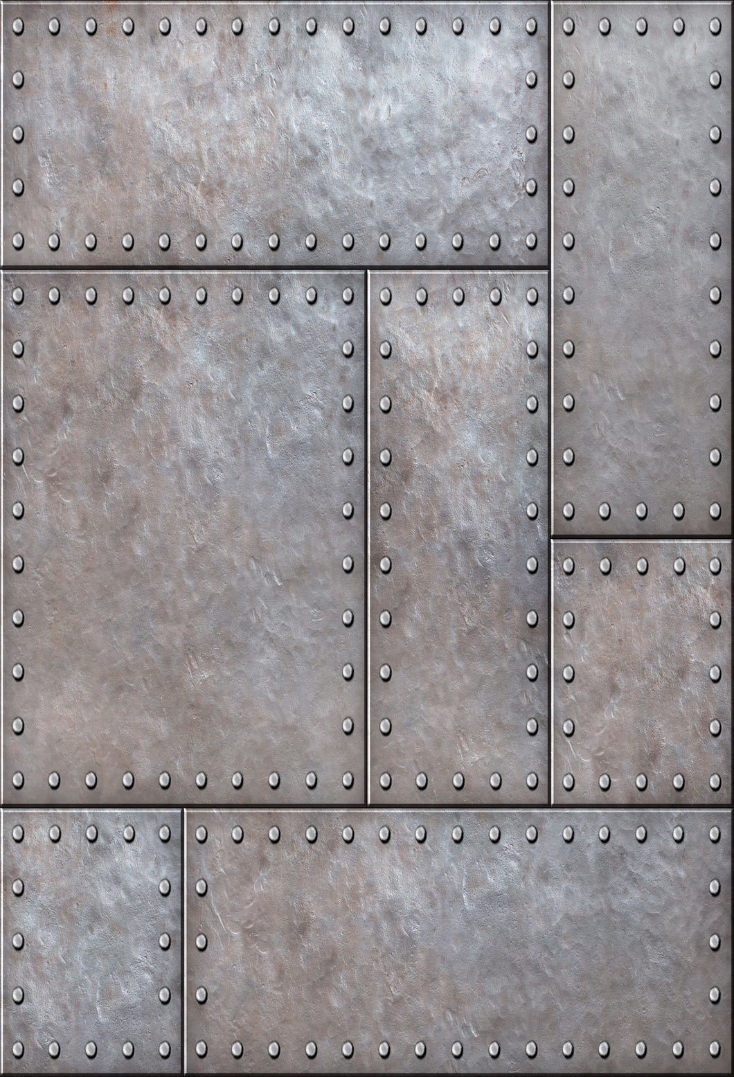 Kate Metal background with rivets Backdrop for Photography