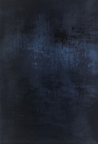 Kate Dark Cold Black-Blue Abstract Texture Backdrop for Portrait Photography