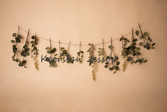 Spring Garland Backdrop