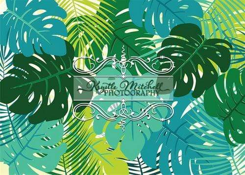 Kate Jungle Rainforest Leaves Backdrop Designed By Krystle Mitchell Photography
