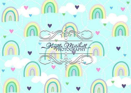Kate Rainbow Children Backdrop Designed By Krystle Mitchell Photography