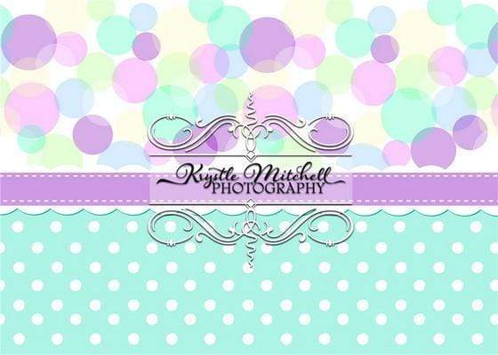 Katebackdrop¡êoKate Purple Party Backdrop Designed By Krystle Mitchell Photography